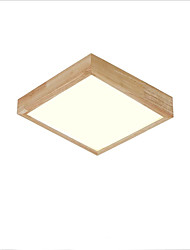 cheap -Flush Mount Ambient Light - LED, 110-120V / 220-240V LED Light Source Included / 10-15㎡ / LED Integrated