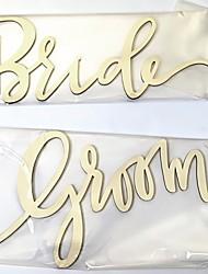 cheap -Wedding Wooden Wedding Decorations Garden Theme / Classic Theme All Seasons