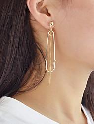 cheap -Women's Mismatch Drop Earrings - Casual / Mismatch Gold / Silver Irregular Earrings For Daily / Date