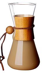 Недорогие -стекло Милый стиль / Heatproof / Креатив 1шт Чайник для кофе
