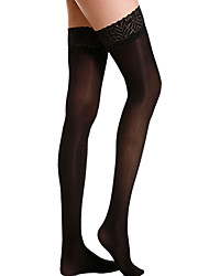 cheap -Women's Thin Stockings - Jacquard