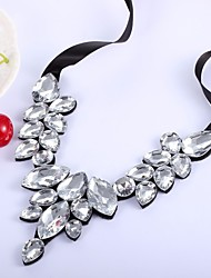 cheap -Collar Necklace - Drop Fashion, Oversized White 46 cm Necklace Jewelry For Wedding, Evening Party