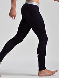 preiswerte -Herrn Normal Baumwolle Nylon Sexy Lange Unterhosen Solide Druck