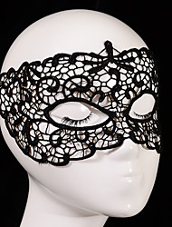 cheap -Holiday Decorations Halloween Decorations Halloween / Halloween Masks Party / Wedding Black 1pc