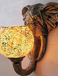 Недорогие -Антибликовая Деревенский стиль Настенные светильники Гостиная Металл настенный светильник 220-240Вольт 40W