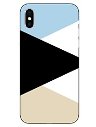 cheap -Case For Apple iPhone X iPhone 8 Pattern Back Cover Lines / Waves Soft TPU for iPhone X iPhone 8 Plus iPhone 8 iPhone 7 Plus iPhone 7