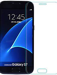 preiswerte -Displayschutzfolie Samsung Galaxy für S7 Hartglas 2 Stück Bildschirmschutz für das ganze Gerät Explosionsgeschützte 2.5D abgerundete