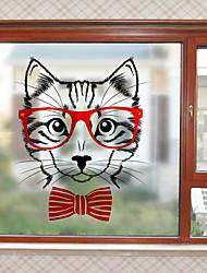cheap -Window Film & Stickers Decoration Contemporary Character PVC Window Sticker Matte