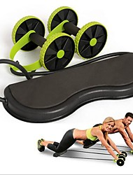 cheap -Ab Wheel / Resistance Bands Fitness / Gym / Boxing Training ABS+PC Physical Therapy / Power Resistance / Stretching Home / Office