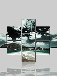 cheap -rolled canvas prints classic modern, more than five panels canvas horizontal print wall decor home decoration