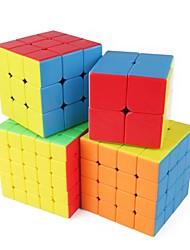 Недорогие -Кубик рубик 1 шт Shengshou D0934 Радужный куб 5*5*5 / 4*4*4 / 3*3*3 Спидкуб Кубики-головоломки головоломка Куб Глянцевый Мода Подарок