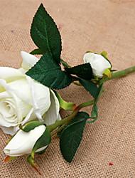 Недорогие -Искусственные Цветы 1 Филиал Винтаж / европейский Розы Букеты на стол