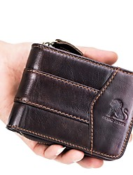 cheap -Unisex Bags Coin Purse Zipper for Office & Career Black / Coffee