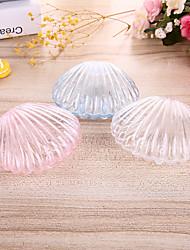 Недорогие -Морская раковина Пластичный полимер Фавор держатель с Металлик Коробочки
