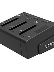 abordables -ORICO Boîtier de disque dur ABS de qualité USB 3.0 ORICO 6638US3-C-BK