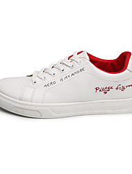 Недорогие -Муж. Полотно Весна / Осень Удобная обувь Кеды Для прогулок Черный / Красный / Зеленый