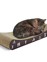 cheap -Scratch Pad Simple Pet Friendly Scratch Pad Paraben Free Formaldehyde Free Catnip Cardboard Paper For Cats