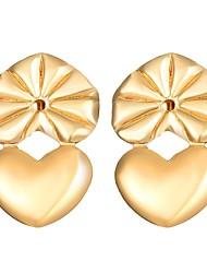 Недорогие -Клипсы - Сердце Мода Золотой / Серебряный Назначение Повседневные