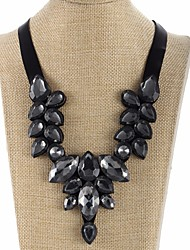 cheap -Collar Necklace - Drop Statement, Sweet Black 46 cm Necklace Jewelry For Evening Party, Street