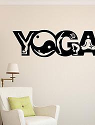 Недорогие -Наклейка на стену Декоративные наклейки на стены - Простые наклейки Религиозная тематика Положение регулируется Съемная