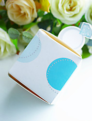 cheap -Cube Cubic Card Paper Favor Holder with Favor Boxes Favor Bags Favor Tins and Pails Gift Boxes Cupcake Wrapper and Boxes Candy Jars and