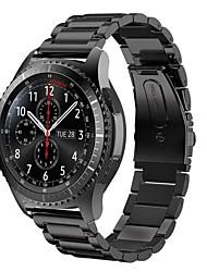 Недорогие -Ремешок для часов для Gear S3 Frontier Samsung Galaxy Современная застежка Металл Повязка на запястье