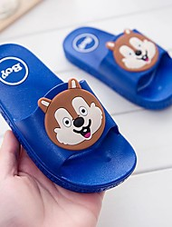 cheap -Boys' / Girls' Shoes PVC Leather Summer Comfort Slippers & Flip-Flops Animal Print for Blue / Pink