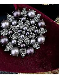 abordables -Brillantes Accesorios Decorativos Mujer Todas las Temporadas Casual Dorado Plata Gris oscuro