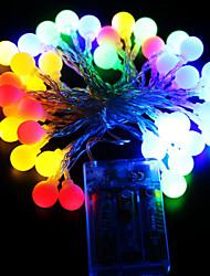 Недорогие -ZDM® 10 м Гирлянды 100 светодиоды ДИП светодиоды Тёплый белый / Холодный белый / Разные цвета Водонепроницаемый / USB / Для вечеринок 100-240 V 1шт