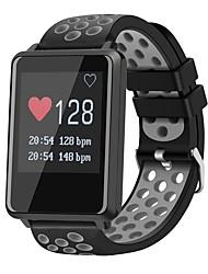 Недорогие -JSBP CPF8 Умный браслет Android iOS Bluetooth Водонепроницаемый Пульсомер Измерение кровяного давления Сенсорный экран / Израсходовано калорий / Педометр / Напоминание о звонке