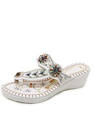 cheap -Women's Shoes Customized Materials / Leatherette Summer Comfort Sandals Platform Open Toe White / Black / Party & Evening