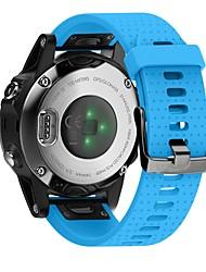 Недорогие -Ремешок для часов для Fenix 5s Fitbit Современная застежка силиконовый Повязка на запястье