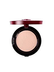 cheap -2pcs Pressed Powder Wet Pressed powder Moisturizing Concealer Natural Face # High Quality Breathable Easy to Carry Make Up