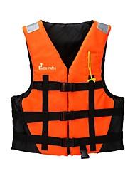 Недорогие -Спасательный жилет Плавание Нейлон Вспенивающийся полиэтилен Дайвинг Серфинг Для погружения с трубкой Верхняя часть для Взрослые