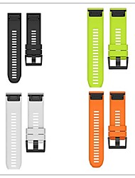 abordables -Bracelet de Montre  pour Fenix 3 HR Fenix 3 Garmin Bracelet Sport Silikon Sangle de Poignet