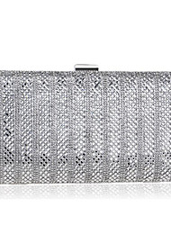 cheap -Women's Bags PP Evening Bag Beading for Event / Party Casual All Seasons Gold Black Silver