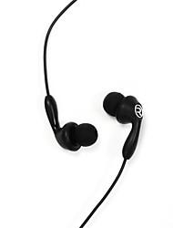 abordables -505 Câblé Ecouteurs Piézoélectricité Plastique Téléphone portable Écouteur Casque