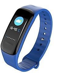 abordables -Pulsera inteligente Pantalla Táctil Monitor de Pulso Cardiaco Resistente al Agua Calorías Quemadas Podómetros Control de Cámara