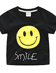 baratos -Para Meninos Listrado Manga Curta Camiseta
