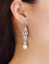 cheap -Women's Drop Imitation Pearl Drop Earrings - Casual / Fashion Silver Irregular Earrings For Daily / Date