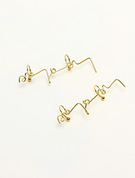 cheap -Women's Gold Plated Ear Cuff - Simple / Fashion Gold Line Earrings For Gift