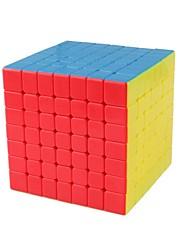 Недорогие -Кубик рубик 1 шт MoYu D0909 Радужный куб 7*7*7 Спидкуб Кубики-головоломки головоломка Куб Глянцевый Мода Игрушки Универсальные Мальчики Девочки Подарок