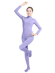 cheap -Zentai Suits Fashion Zentai Cosplay Costumes Jade Dark Gray Coffee Dark Purple Light Purple Solid Colored Fashion Zentai Lycra® Men's
