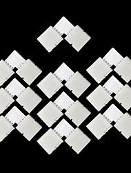 Недорогие -ZDM® 10 шт. 5050 SMD Водонепроницаемый / Газонокосилка Электрический разъем Пластиковые & Металл для RGB LED Strip Light