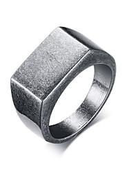 Недорогие -Муж. Кольцо - Мода 8 / 9 / 10 Серый Назначение Для улицы / Офис