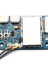 baratos -FLYSKY X6B 2.4G 6CH i-BUS PPM PWM Receiver 1pç Receptor Metal