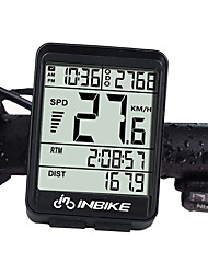 cheap -INBIKE IN321 Bike Computer / Bicycle Computer Waterproof Wireless Backlight LCD Display Speedometer Odometer Cycling / Bike Road Bike