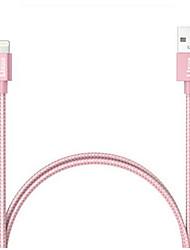 economico -Illuminazione Alta velocità / Carica rapida Cavi iPhone per 100 cm Per Nylon