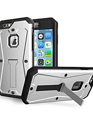 abordables -Coque Pour Apple iPhone 8 iPhone 8 Plus Antichoc Avec Support Coque Armure Dur Silicone pour iPhone 8 Plus iPhone 8 iPhone 7 Plus iPhone