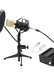 preiswerte -KEBTYVOR BM700-Full set PC / Mit Kabel Mikrofon Set Kondensatormikrofon Handmikrofon / Austattungen Für PC
